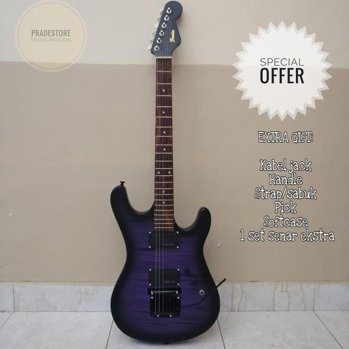 gitar listrik elektrik fender strato