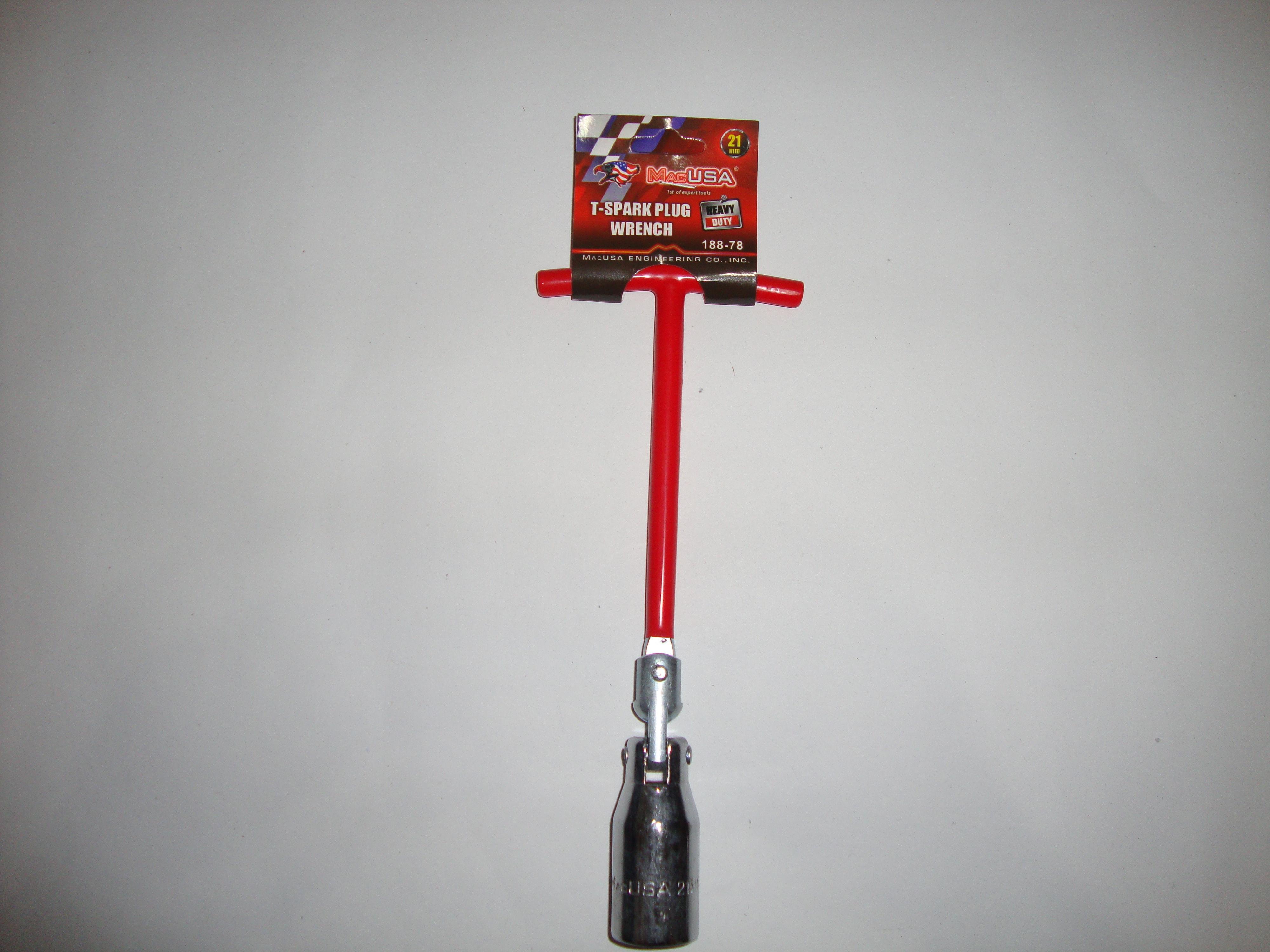 Kunci Busi Flexibel 21mm / T-spark Plug Wrench Heavy Duty