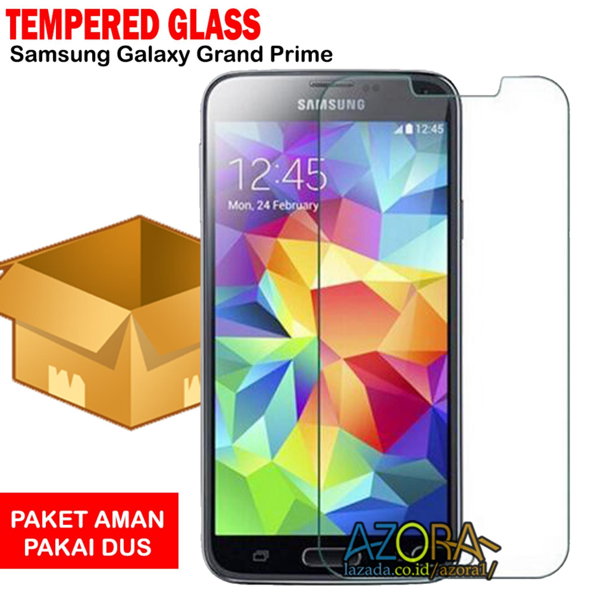 Tempered Glass Samsung Galaxy Grand Prime G530 Screen Protector Pelindung Layar Kaca Anti Gores - Bening