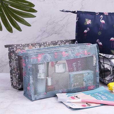 jbs tas travel organizer kosmetik / tas makeup / alat mananti air untuk travel kosmetik wanita k364