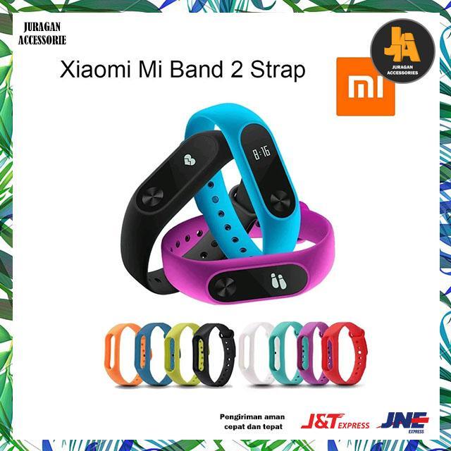 Juragan Accessories - Xiaomi Strap For Mi Band 2 Oled Display - Tali Strap Silicon Mi