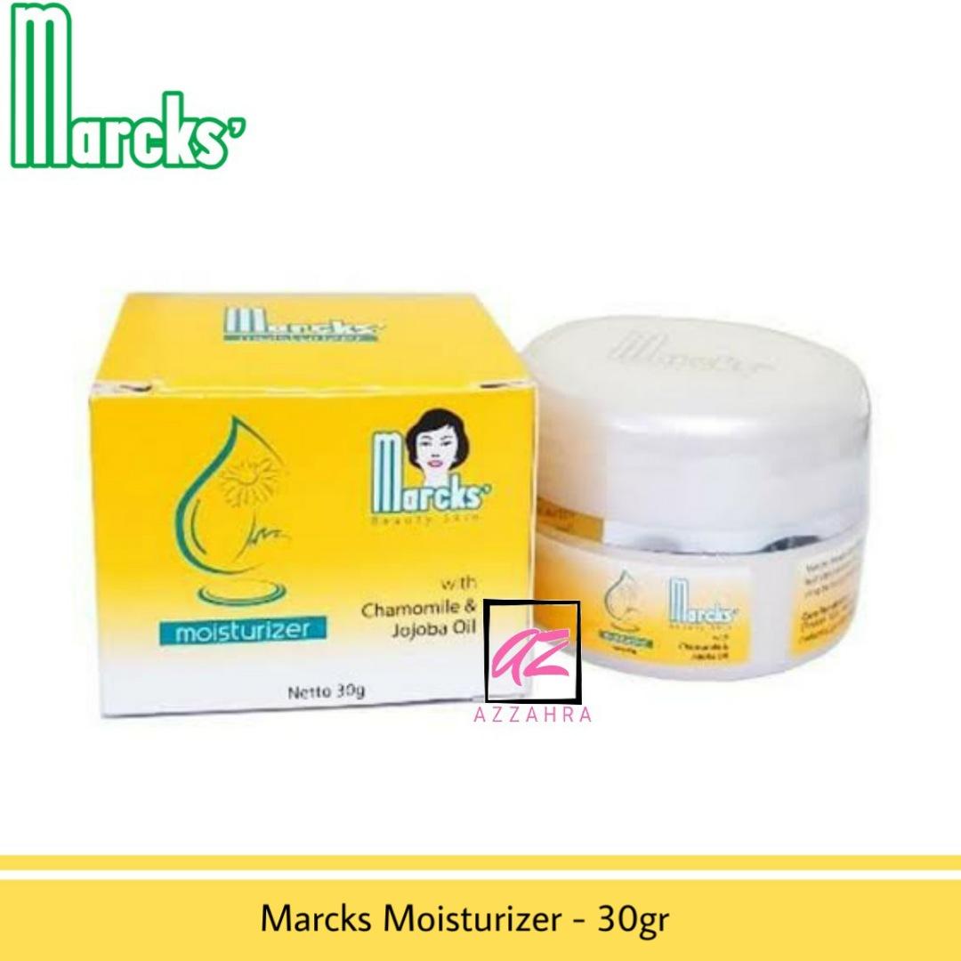 marcks moisturizer – 30gr ( pelembap wajah / cream wajah )