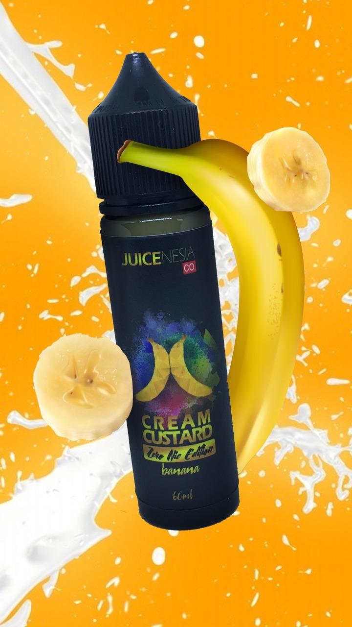 liquid levica rasa banana smoothies 60ml bercukai rasa premium.