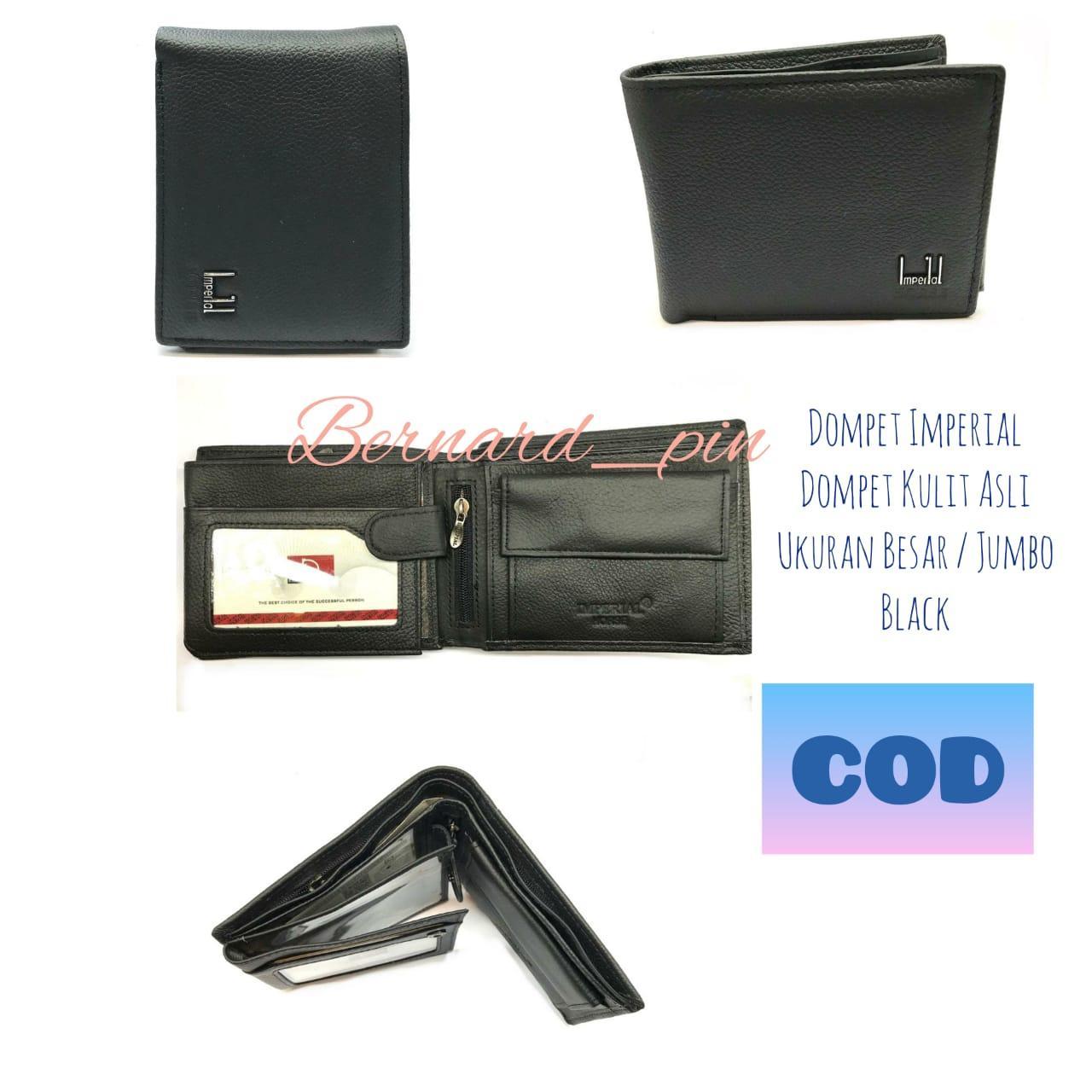 dompet pria kulit asli dompet laki2 kulit asli dompet imperial horse ukuran besar jumbo_ color black