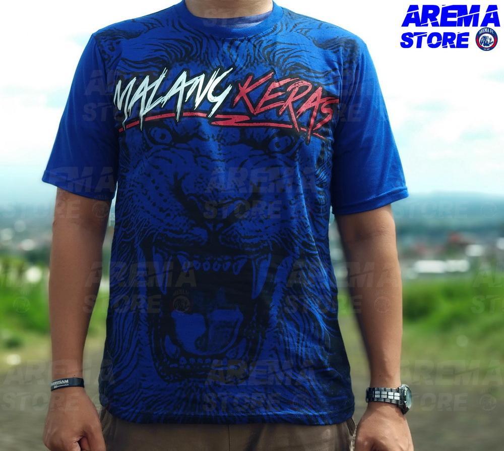 Baju kaos T-shirt distro Arema fc suporter aremania aremanita murah bahan katun KC50