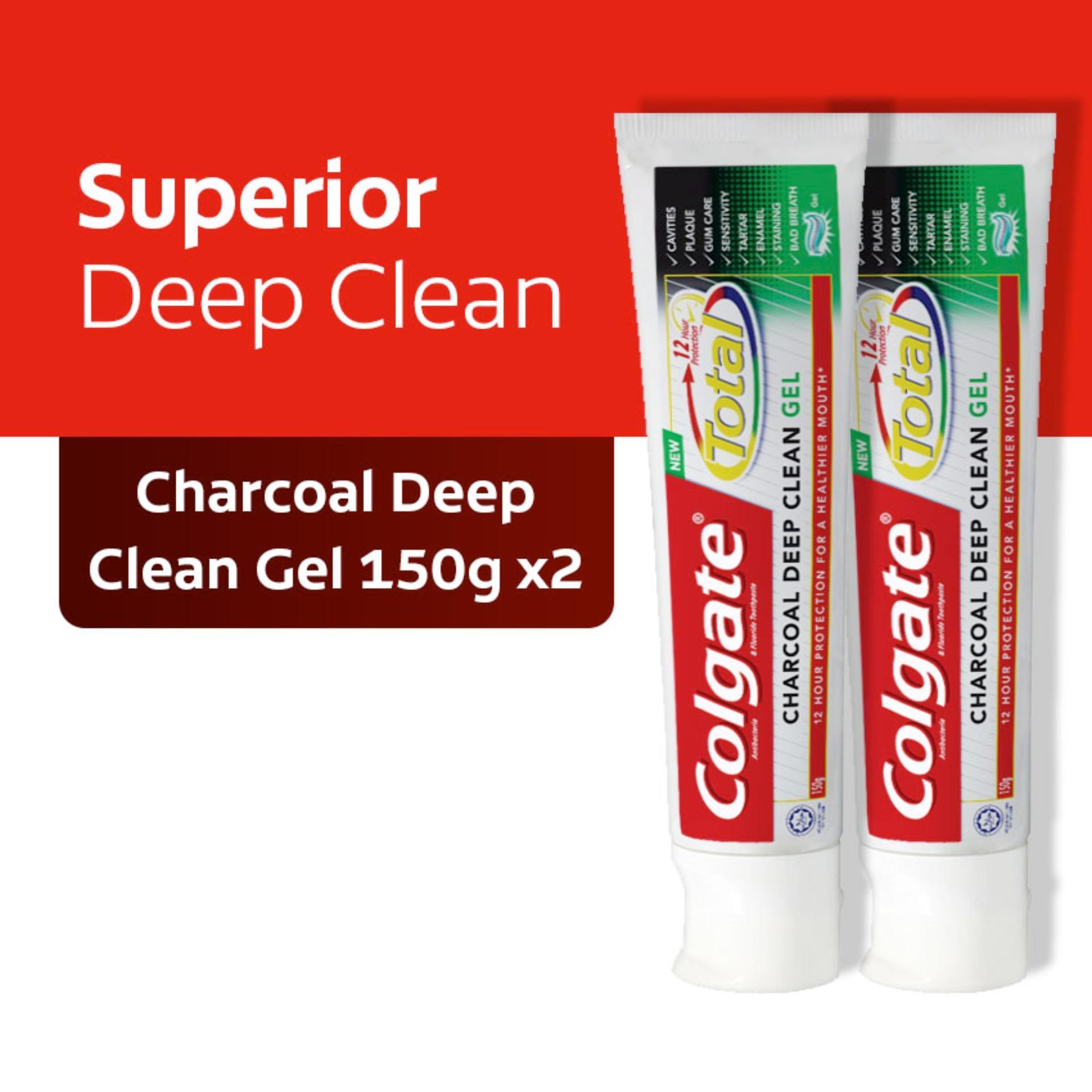 Colgate Tooth Paste Total Pro Clean Pas 150gr - Harga Terkini dan ... 904efd72a9