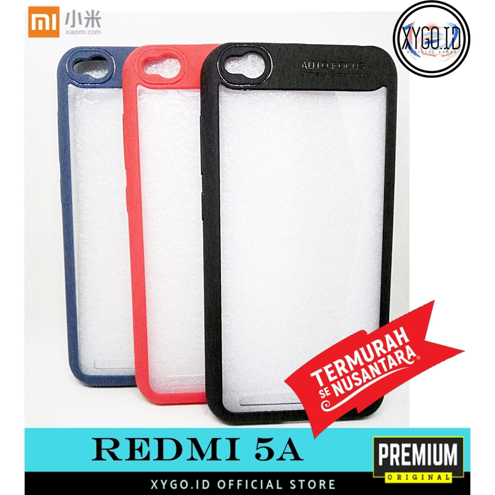 Case Acrylic Xygo Premium XIAOMI Redmi 5A Softcase Casing Cover Autofocus Transparan