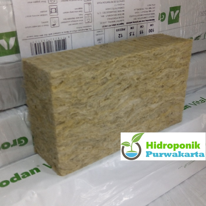 rockwool hidroponik gro berkualitas untuk 180 kotak tanam. rockwool dengan ng2.2 teknologi memberikan pertumbuhan akar tanaman lebih cepat optimal sehingga hasil akhir tanaman akan memuaskan.