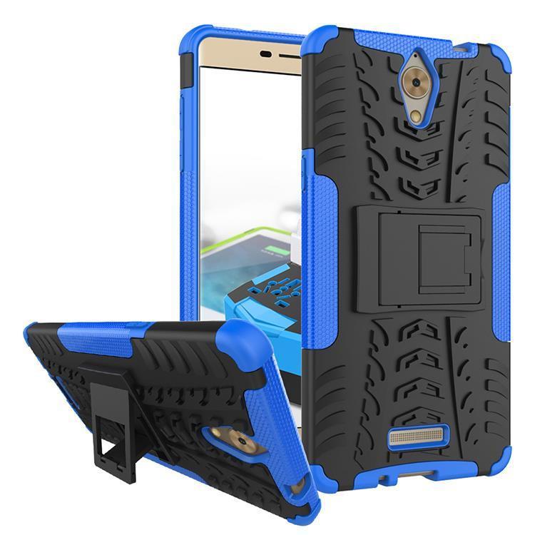 Detail Gambar HotPlain- RUGGED ARMOR Coolpad sky 3 e502 max a8 soft case casing back