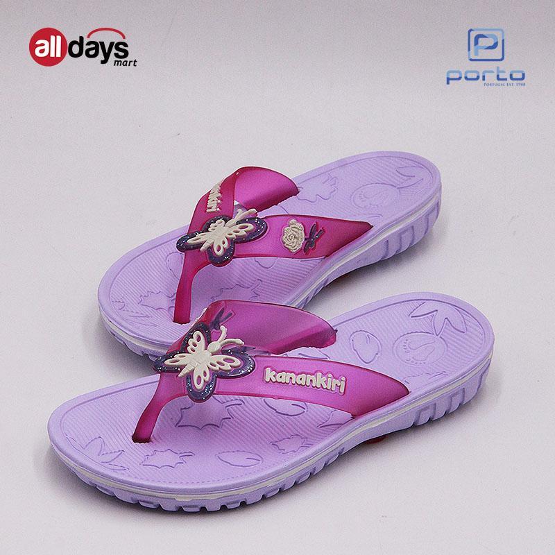 Kanan-Kiri Sandal Jepit Anak Perempuan K7005 Size 25-30