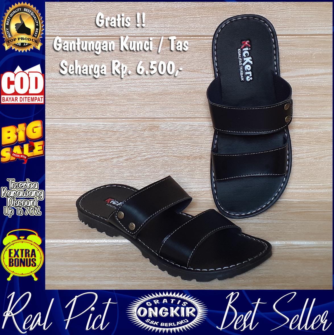 promo sandal / sendal pria / cowok dewasa  kualitas terbaik adr-61