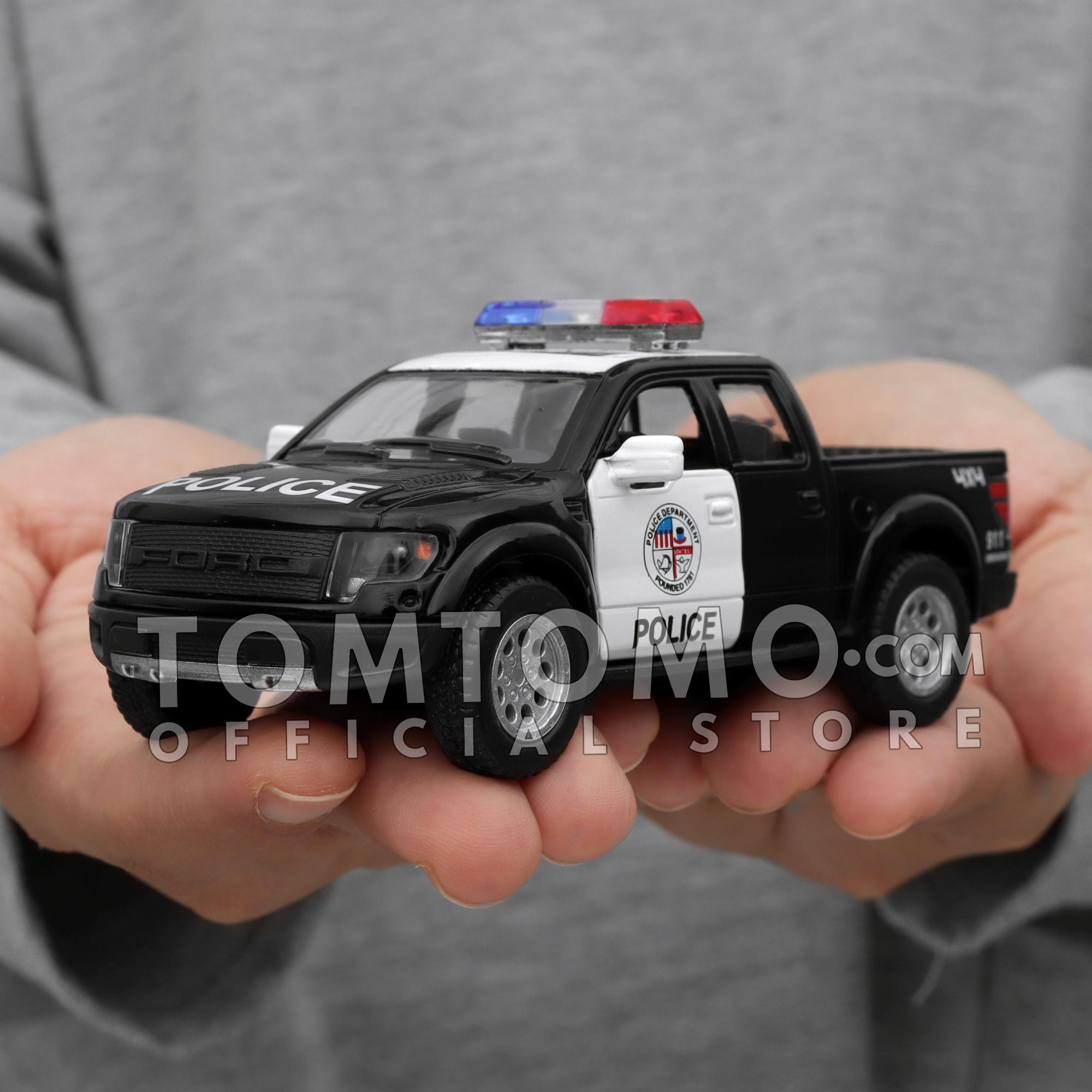 Features Ford F 150 Raptor Special Police Fire Rescue Diecast