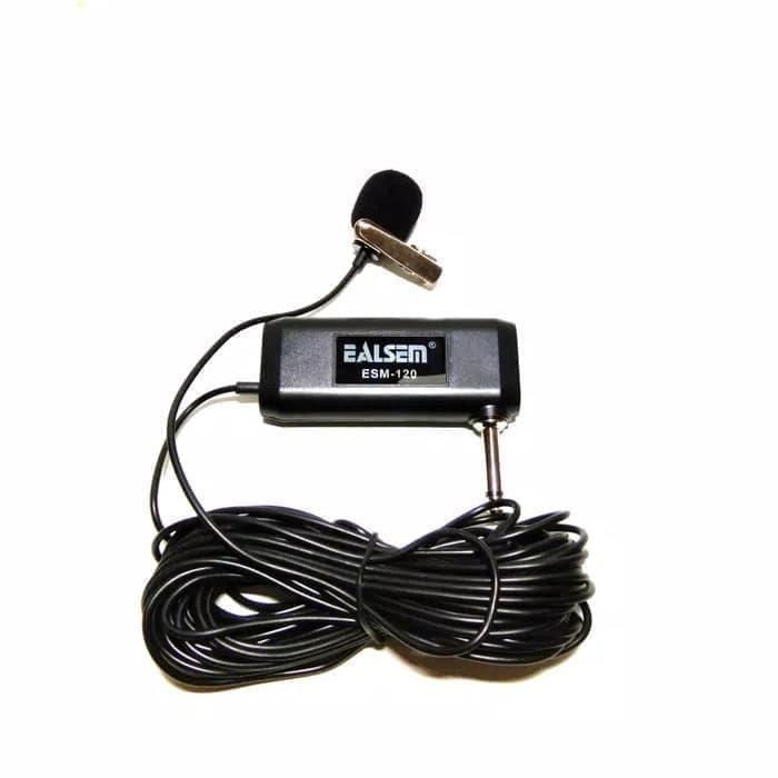 Detail Gambar Ealsem ESM-120 Microphone Jepit / Clip Microphone Terbaru