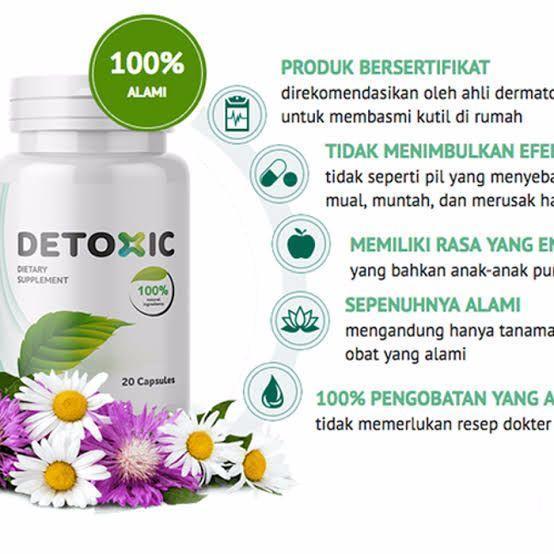 detoxic asli – pembasmi semua parasit dalam tubuh 100% natural