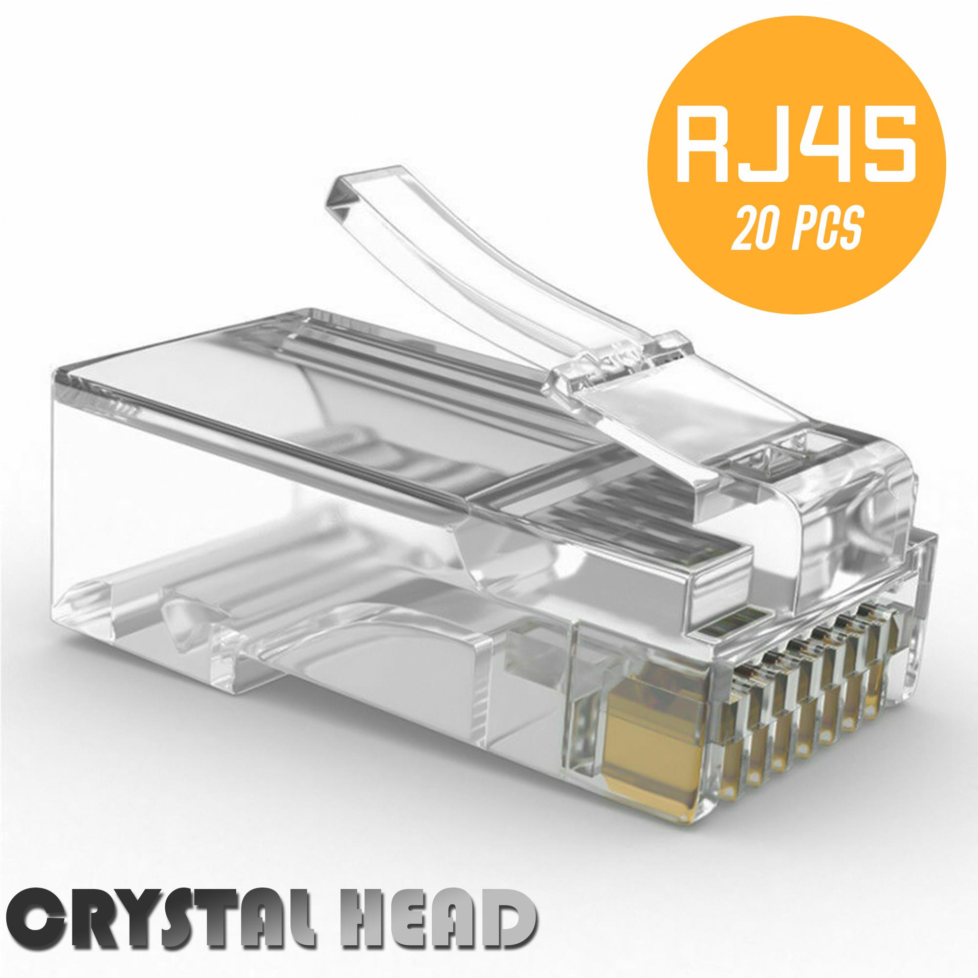 weitech konektor rj45 seri 5e 20 pack