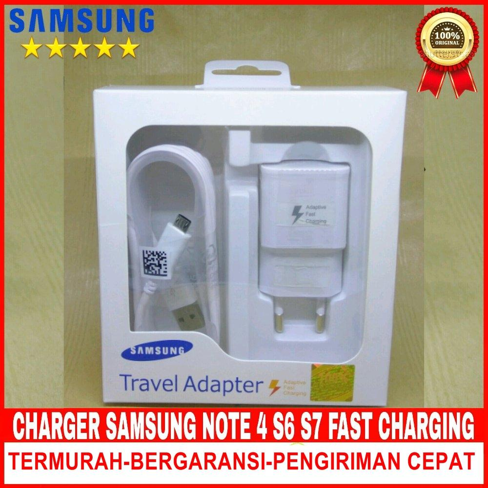 charger samsung galaxy note 4 adaptive fast charging 15w compatible for samsung galaxy s6 / s7 / note 4/5 – putih