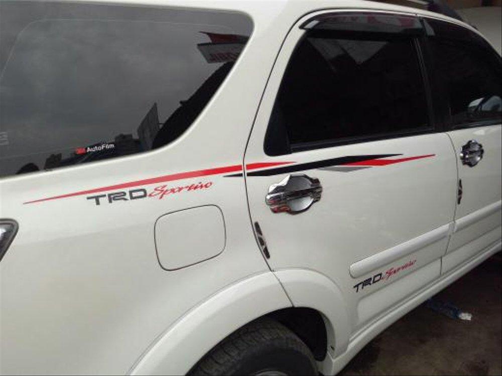 stiker body rush trd sportivo ultimo hitam silver merah