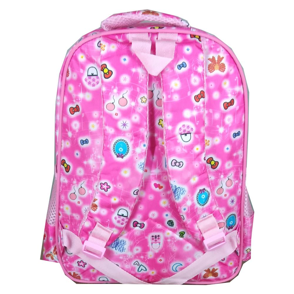 ... BGC Tas Ransel Sekolah Anak TK Hello Kitty Love IMPORT High Quality + Lunch Bag Aluminium