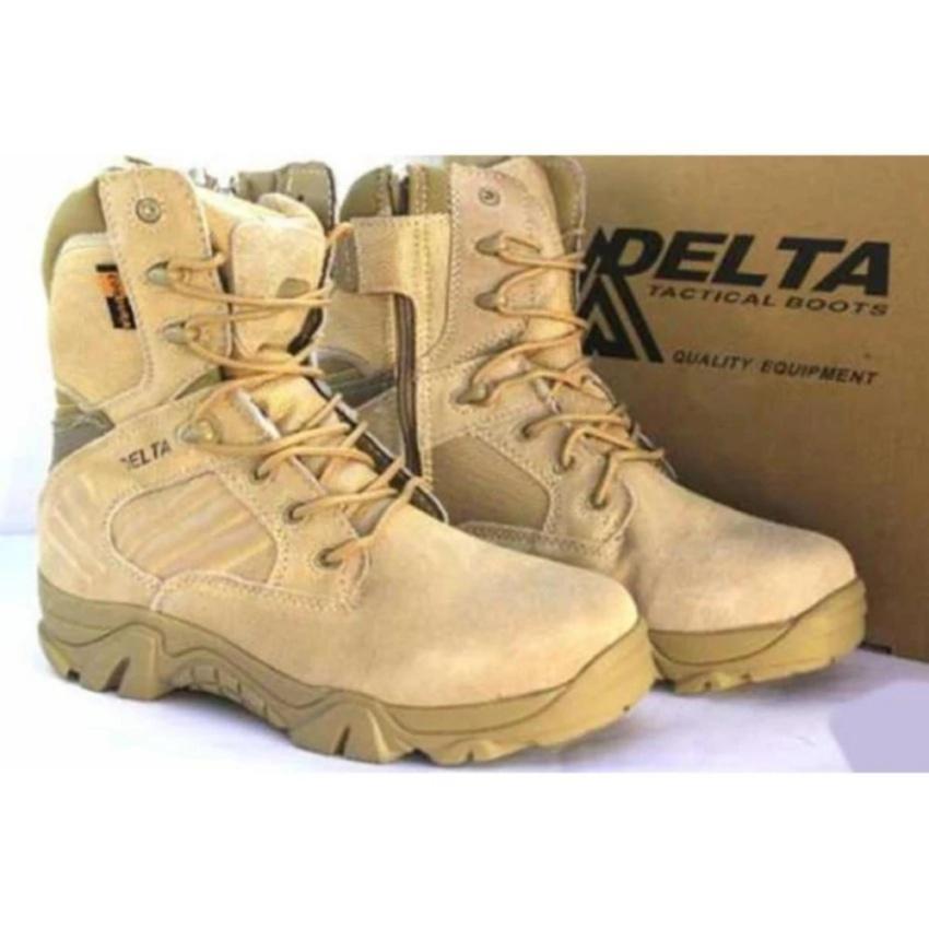 delta sepatu coklat gurun 8 inchi db 5450 s outdor original