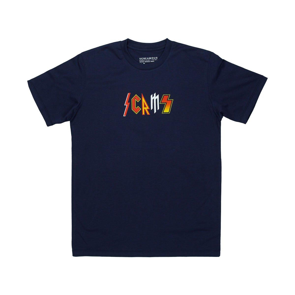 T Shirt Screamous Concert#1 Navy Blue