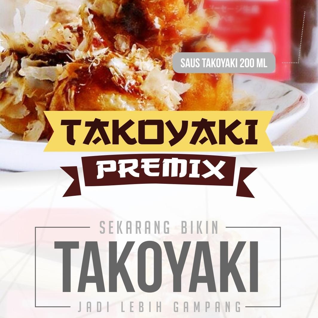 Detail Gambar Paket Tepung Takoyaki DNFOOD Terbaru