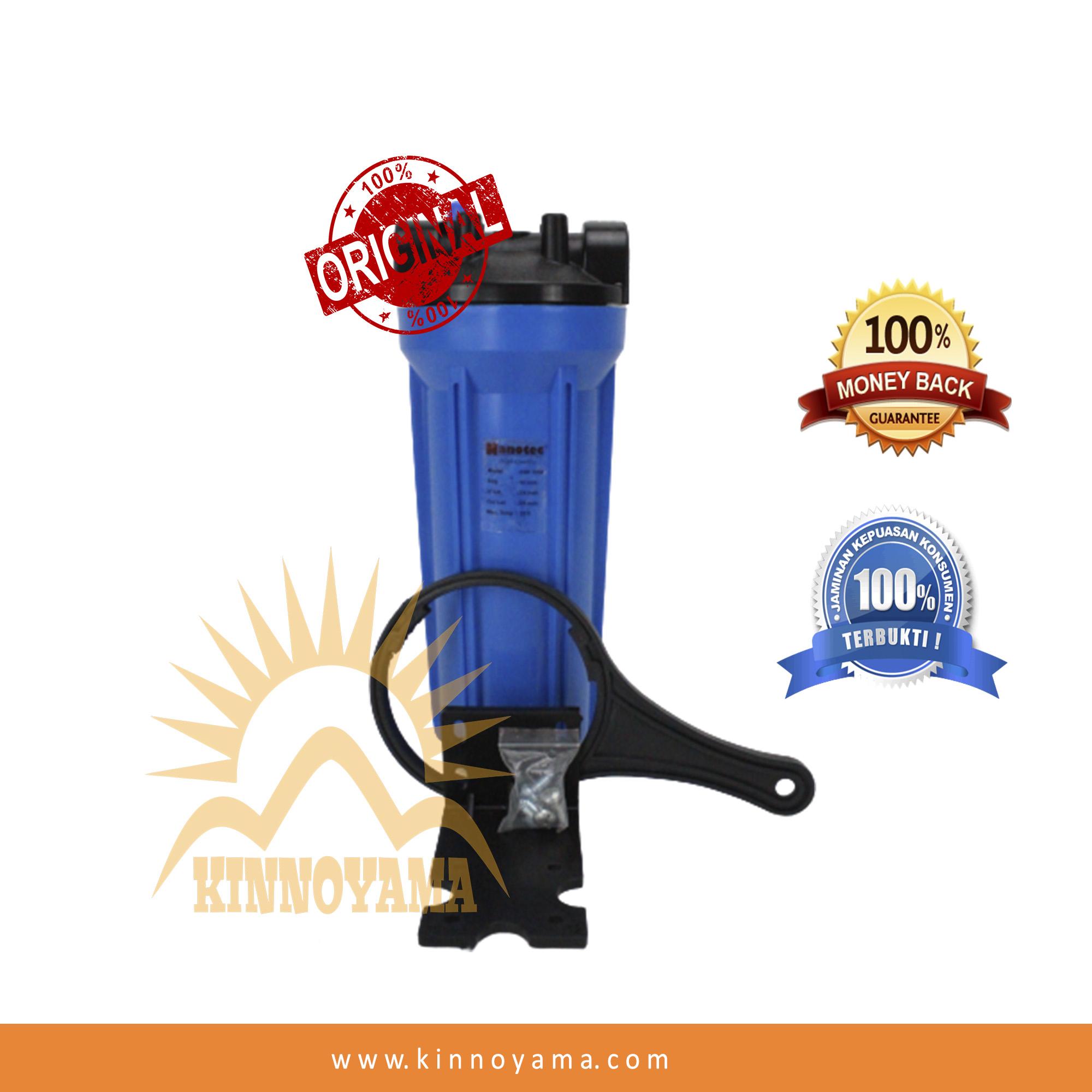 housing filter air 10  nanotec blue drat 1/2