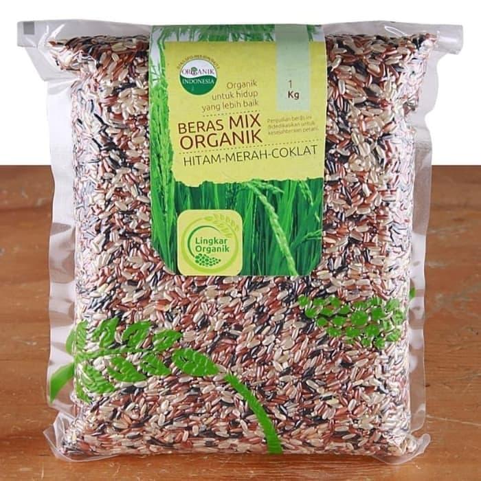 beras mix organik campuran 100gr  untuk mpasi