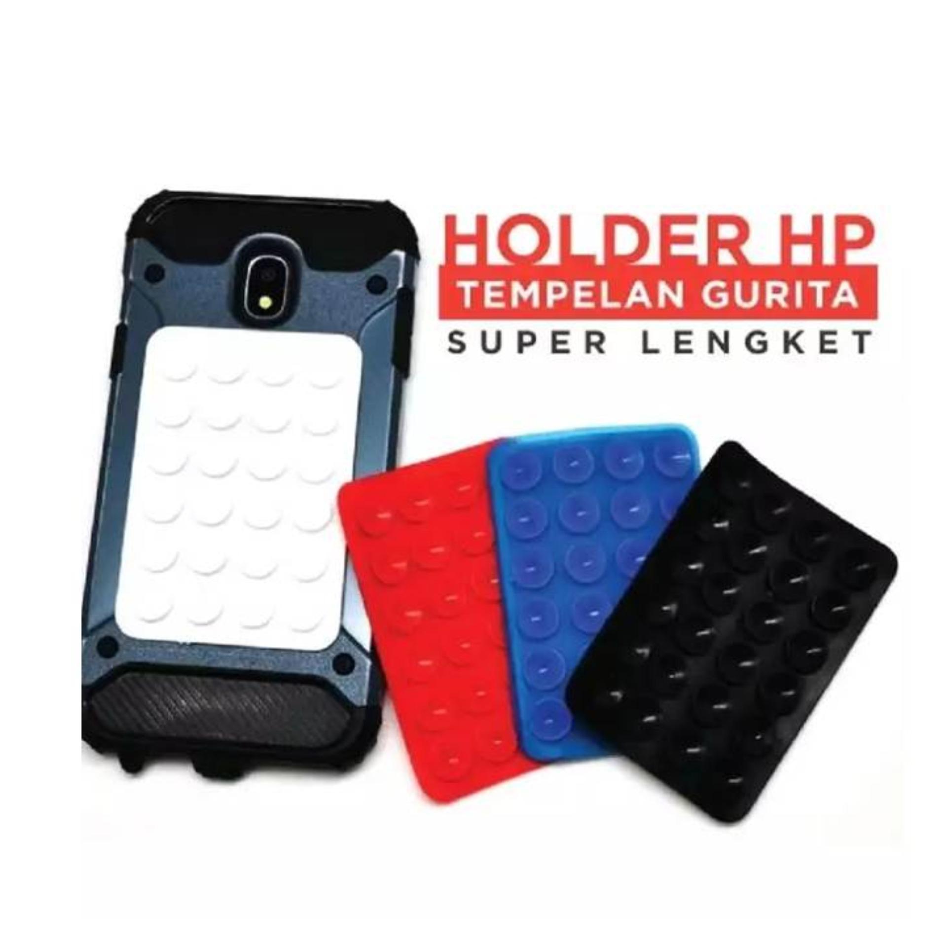 phone holder / stholder gurita universal 24 tentakel- hitam
