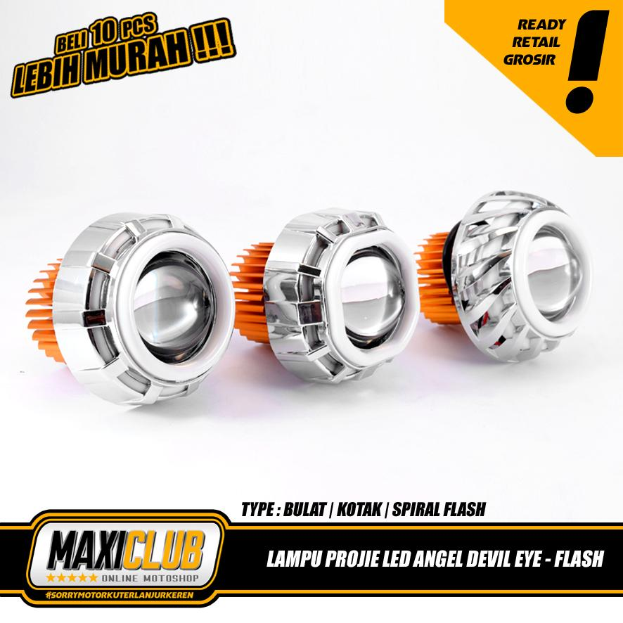 Otomotif Store Demon Eyes Devil Eyes High Power Led 1w Untuk Source · Detail Gambar Maxiclub