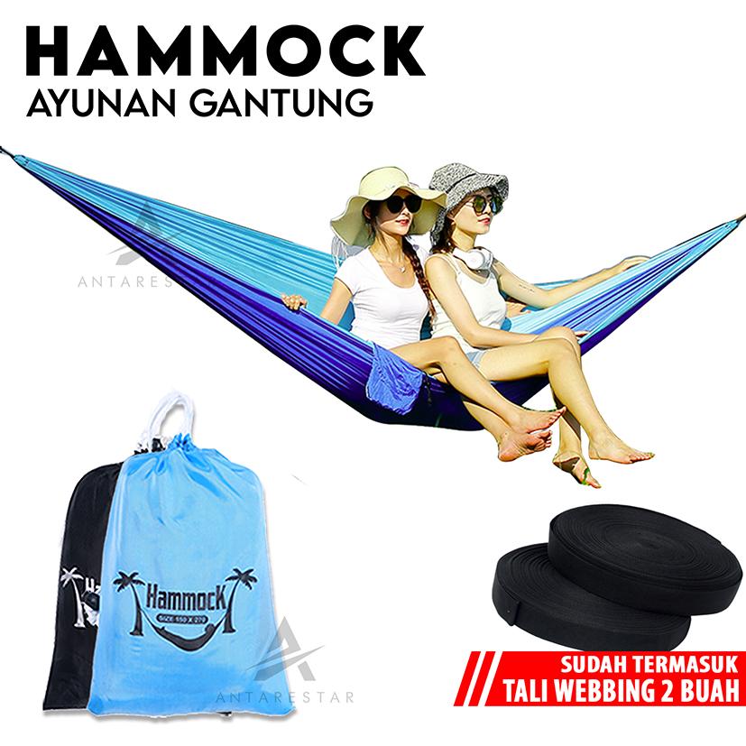 hammock tempat tidur ayunan gantung hamock hemok