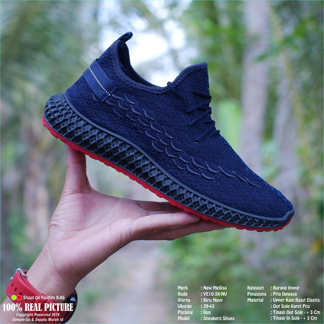 sepatu import sneakers pria premium-class ye10 39-43
