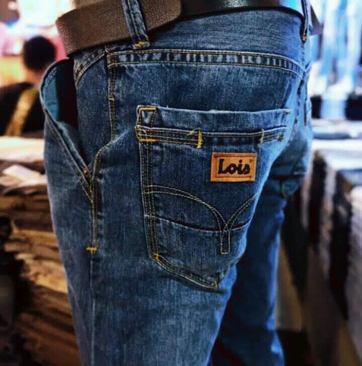 celana jeans lois original pria-celana jeans panjang pria-celana import denim pria model  kualitas terbaik-celanajeans pria