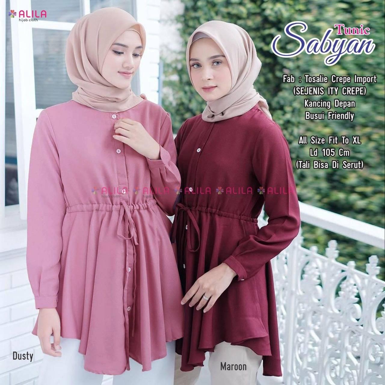 Review Baju Tunik Terbaru Baju Muslim Terbaru Tunik Terbaru Luna