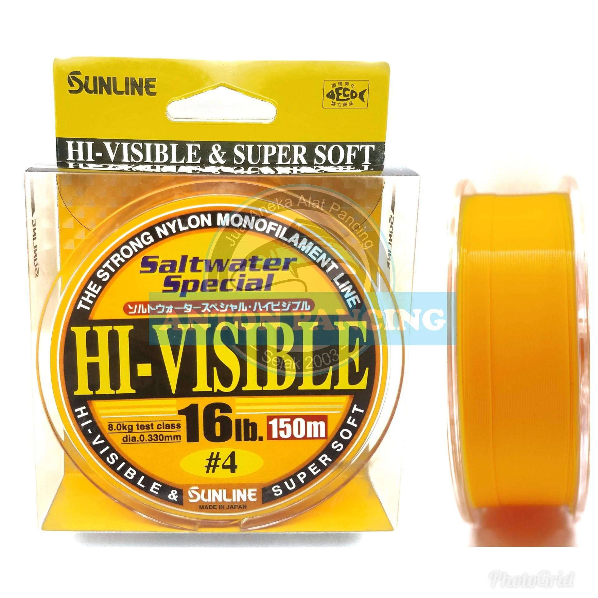 senar pancing sunline hi-visible 150 m