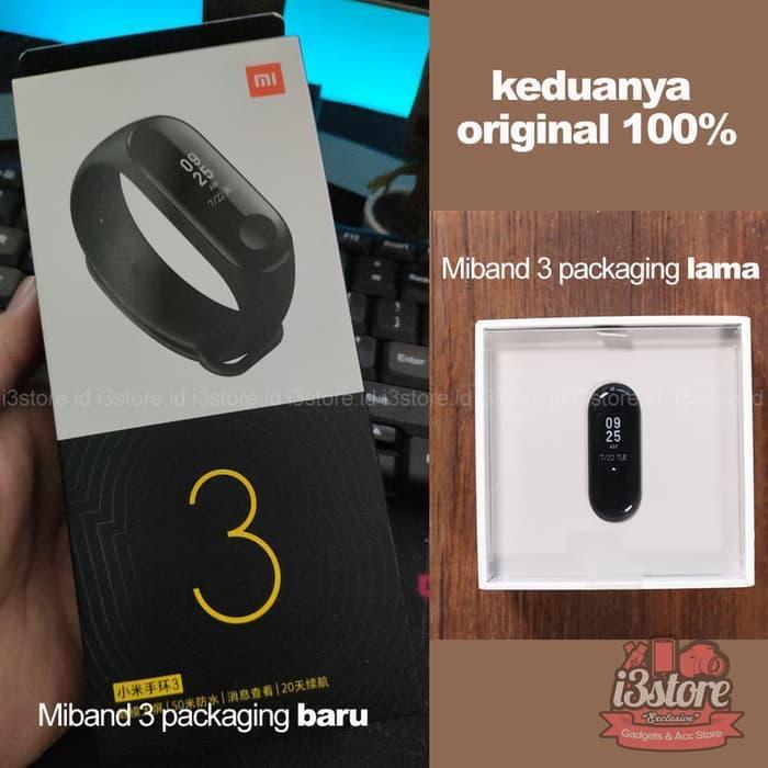 Review Terlaris!! Xiaomi Mi Band 3 Miband 3 Oled Smartwatch Miband3