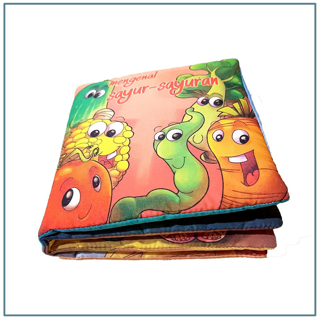 dedee –  buku kain bayi edukasi / mainan buku kain buku cerita bayi/ mainan edukasi bayi