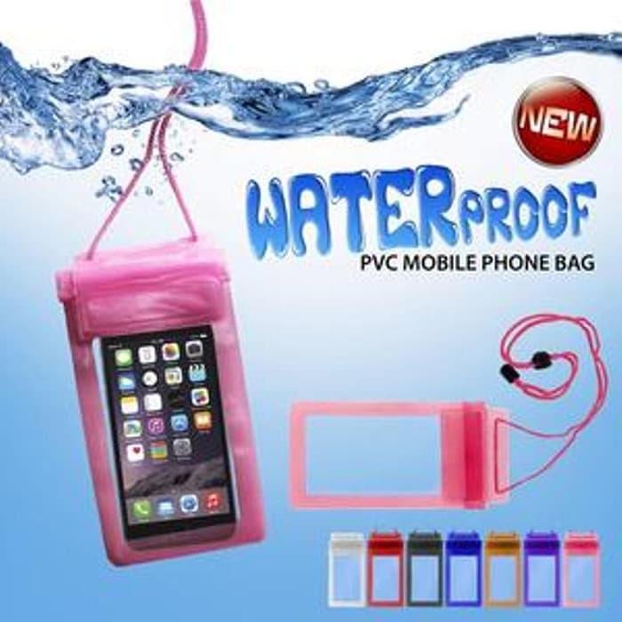waterproof case hp universal all size ( 55 ) kualitas premium