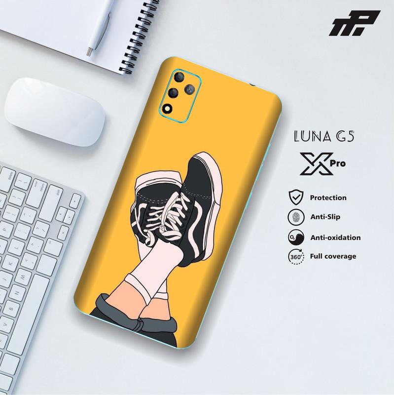 (bisa cod) garskin handphone luna x pro (g5) shoes