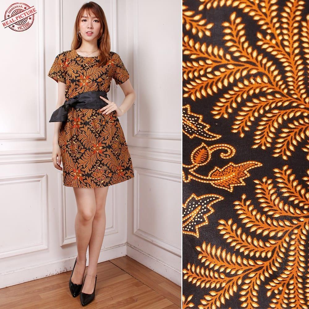 Diskon Besar Shining Collection Dress Midi Batik Delisa Short Dress ... 8e9ebcd632