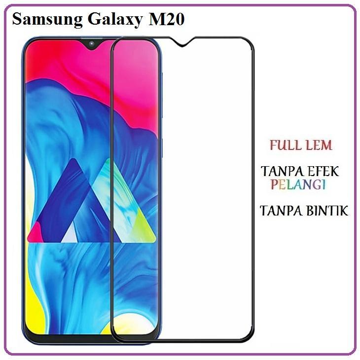 Tempered Glass 5D Samsung Galaxy M20 Anti Gores Kaca