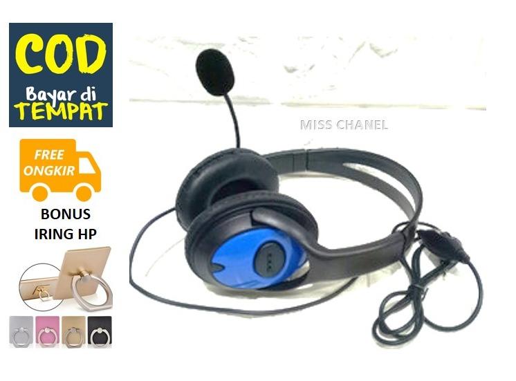 (promo bonus iring)  headset /handset/ earphone  gaming extra bass full stereo x33 –  hendset gaming  2020 untuk semua tipe hp pclaptop dll – suara  full bass jernih