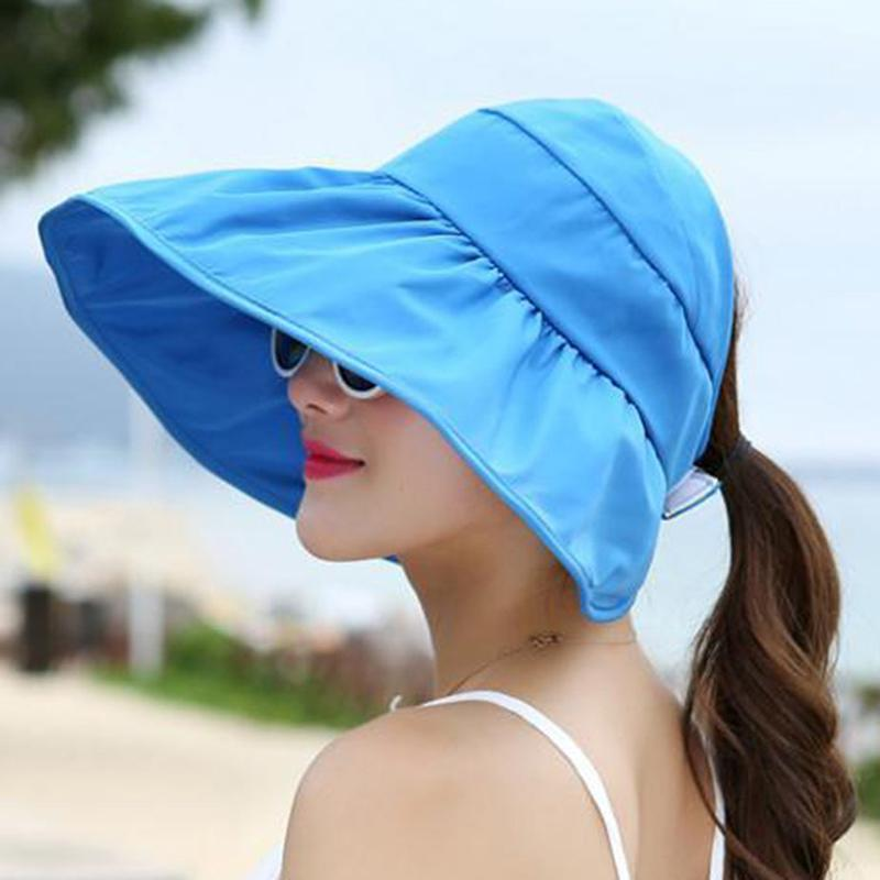 Detail Gambar Vienna Linz Topi Pantai Wanita Anti UV Ladies Beach Hat  Travelling Anti Panas Women Fashion Accessories Big Visor Design Cap  Pelindung Tudung ... f09e4308d6