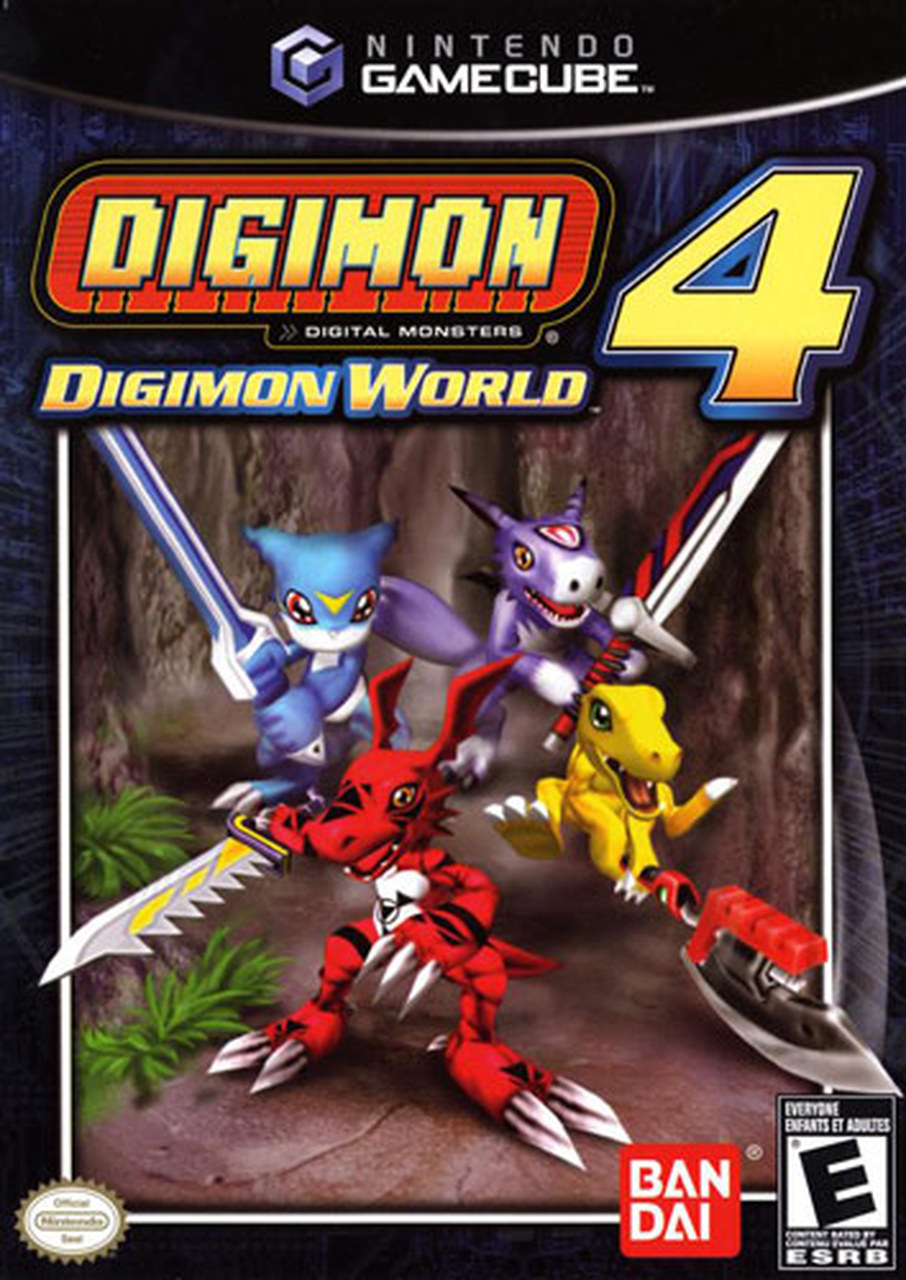 DVD Game PS2 Digimon World 4 DVD Burning Baru + Cangkang DVD
