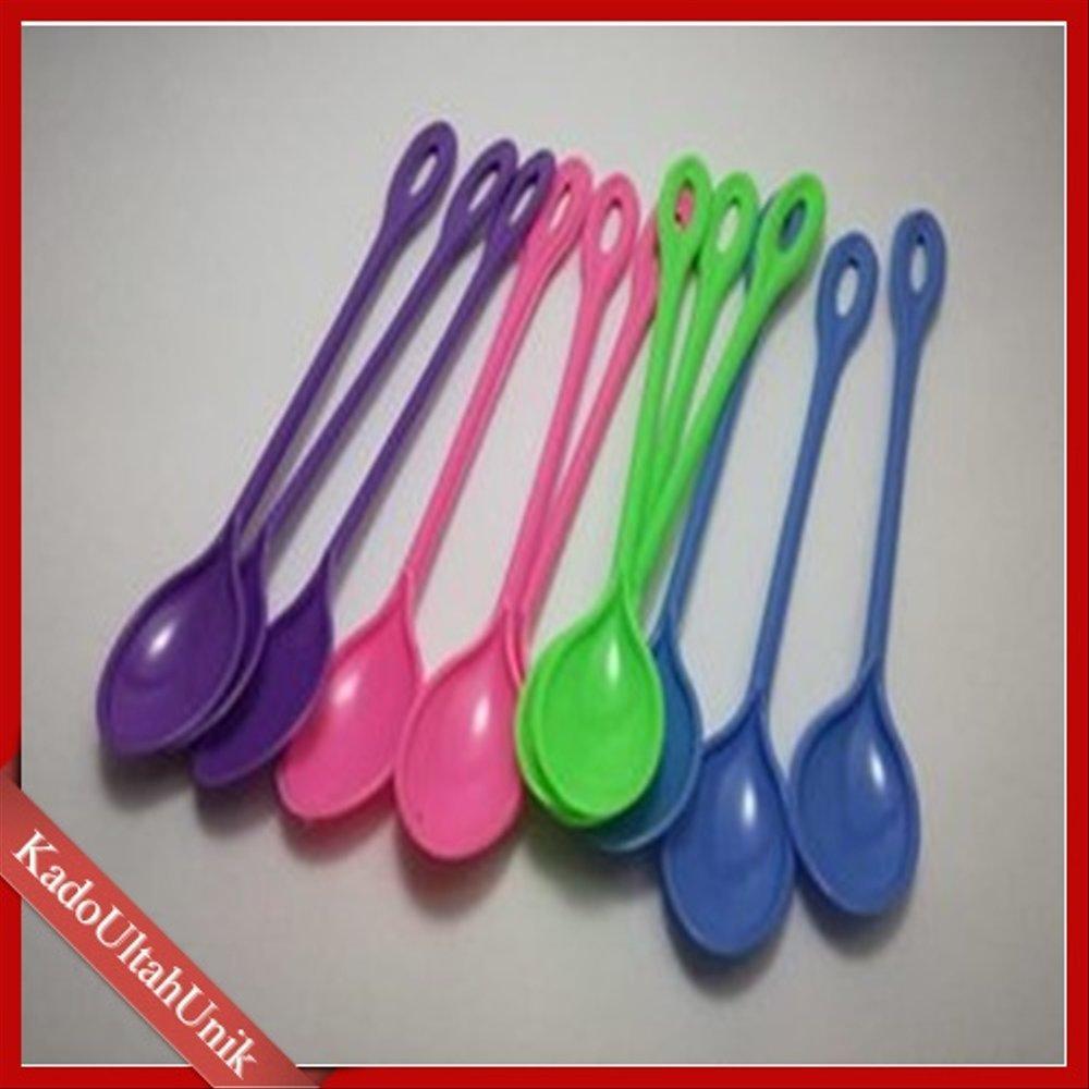 sendok plastik isi 12