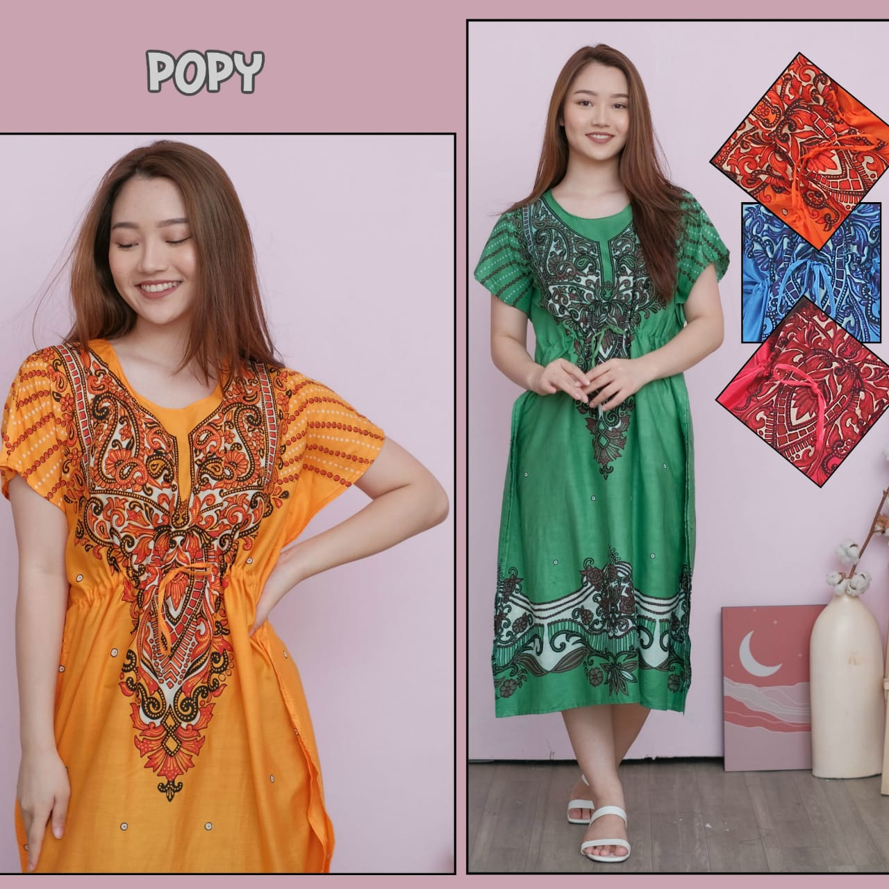 promo  daster lowo teratai – baju hamil modern  dress- daster  2020 modern – others- bahan rayon halus adem