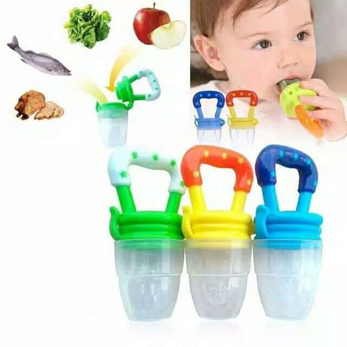 BS146 Emping Dot Buah Sayur Bayi Dengan Tutup Baby Fruit Feeder Pacifier - 4