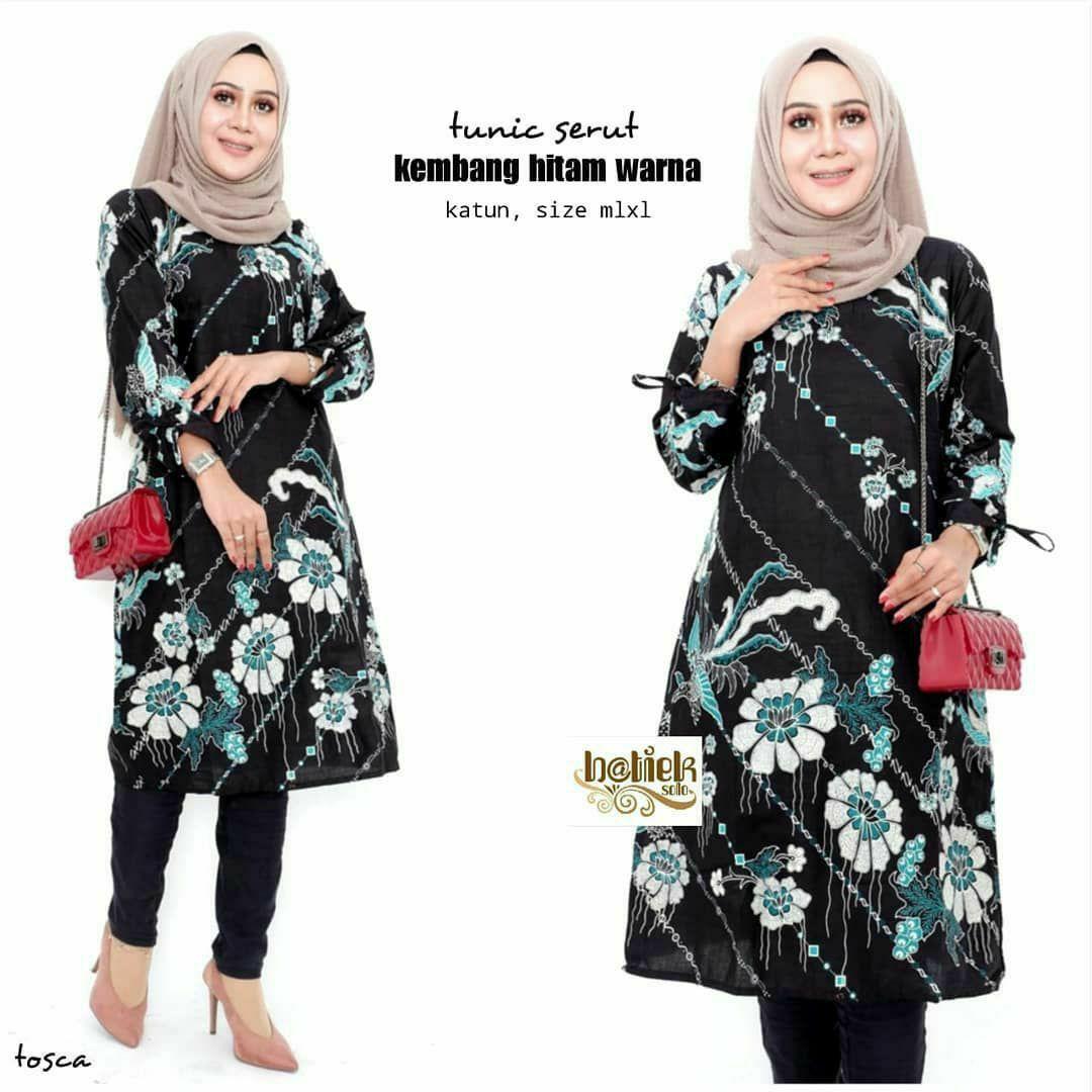 Review Atasan Batik Wanita Atasan Wanita Baju Tunik Baju Batik