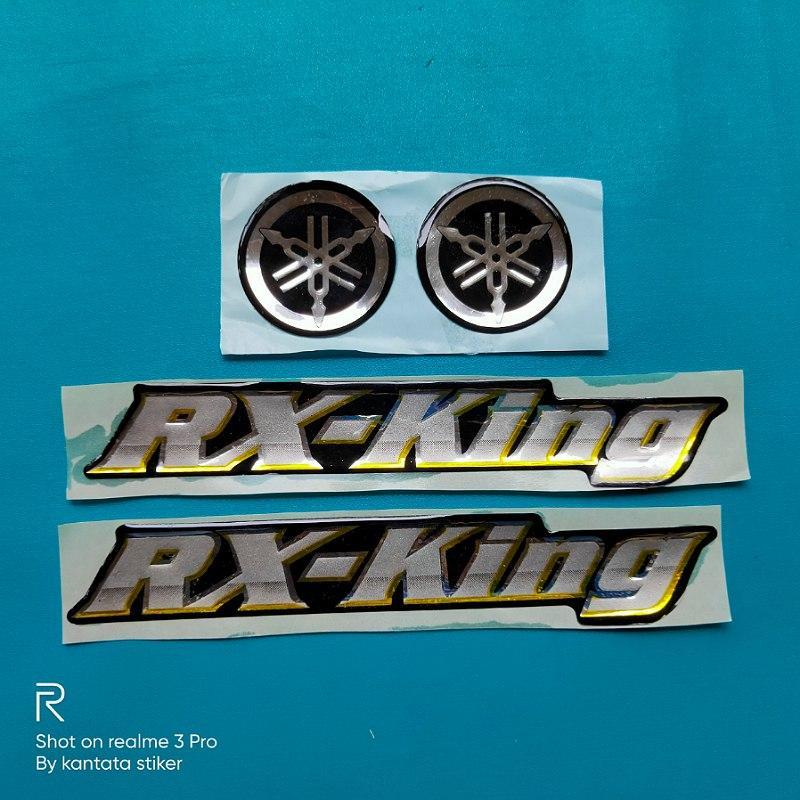 emblem rx king silver kuning