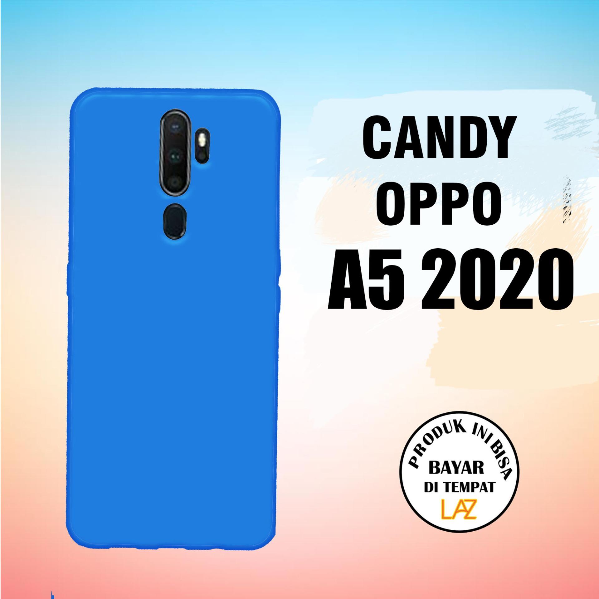 candy case oppo a5 2020 variasi warna bisa bayar ditempat (cod)
