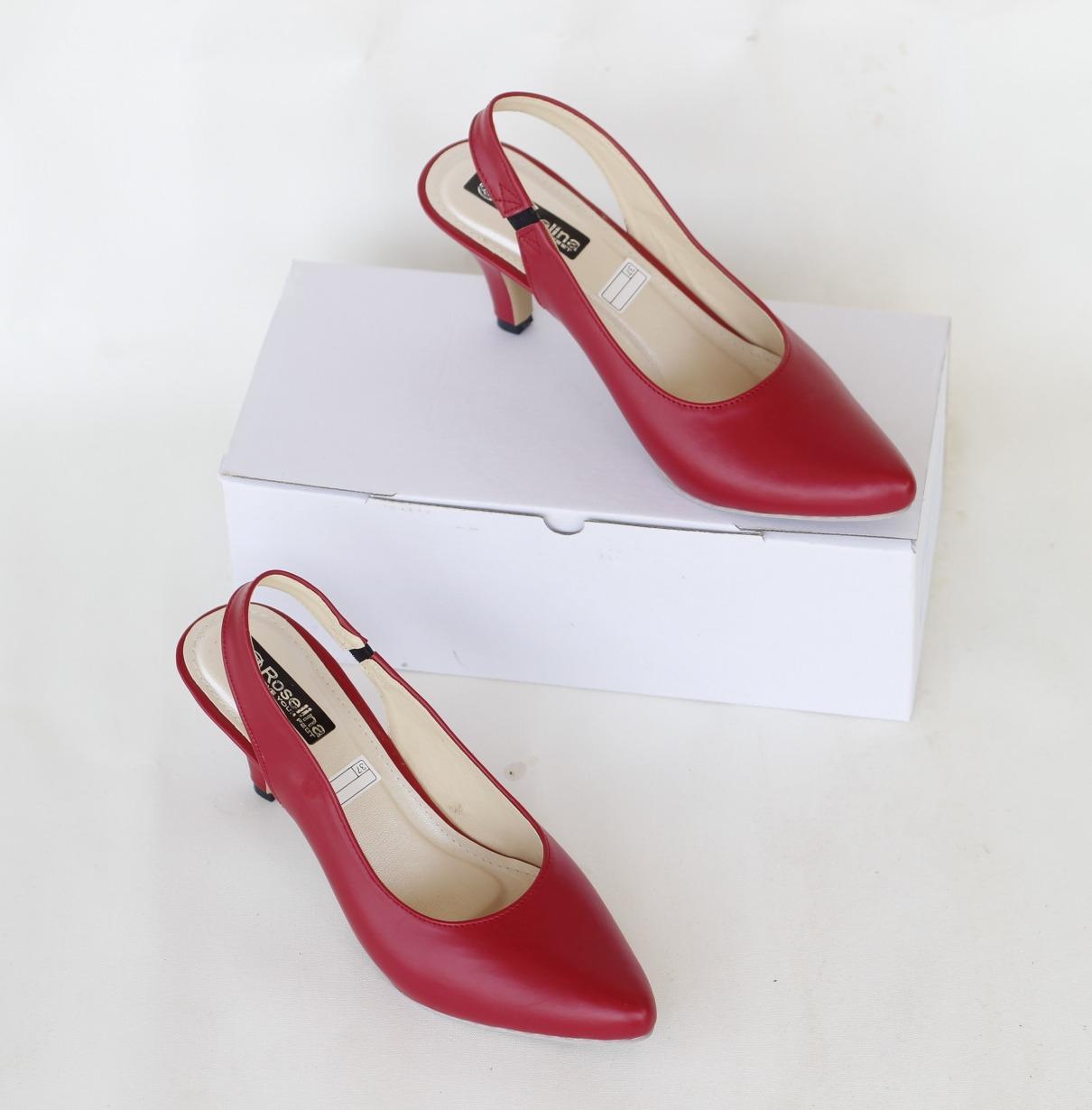 marelli  sepatu heels wanita  0510 camel